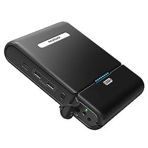 RAVPower Caricatore Portatile da 27000mAh Alimentatore per Viaggio con Output AC 100W per Elettrodomestici da 110V / 220V (1 Porta Type-C, 2 Porte USB) Ricarica il Macbook, Laptop, iPhone, iPad, ecc