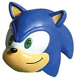 Sonic The Hedgehog Sonic 3/4 Vinyl Mask by Rubie's
