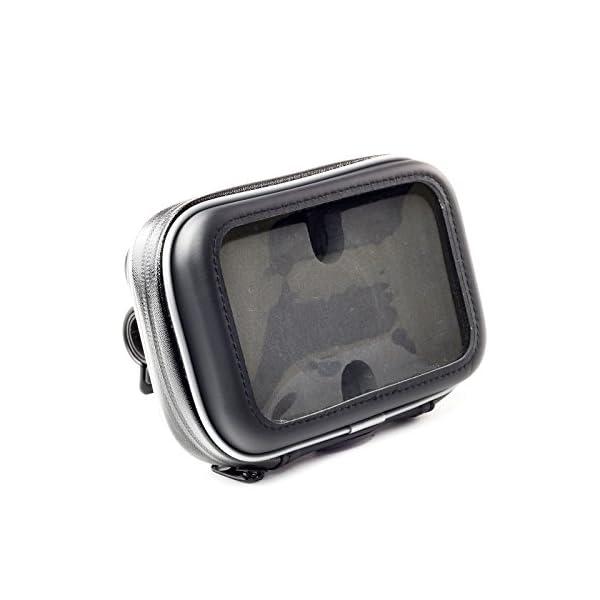 Digicharge Support Guidon de Moto avec Housse Résistant à l'eau pour 5''  Navman and Mio GPS Sat Nav S F Moov and Spirit Series