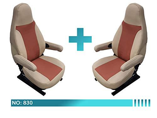 Wohnmobil Sitzbezüge Fahrer & Beifahrer 830