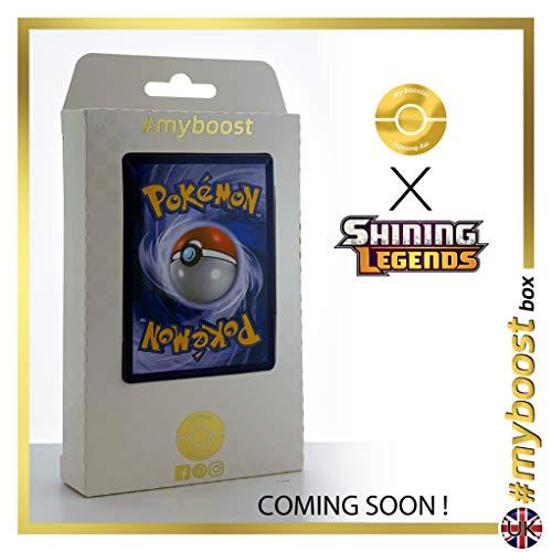 Incineroar 17/73 Holo Reverse - #myboost X Sun & Moon 3.5 Shining Legends - Box de 10 cartas Pokémon Inglesas