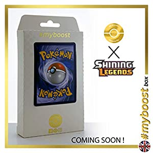 Venusaur 3/73 Holo Reverse - #myboost X Sun & Moon 3.5 Shining Legends - Box de 10 cartas Pokémon Inglesas
