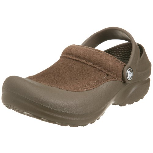 crocs Damen Clogs & Pantoletten Braun Chocolate/Chocolate (Cayman Chocolate)