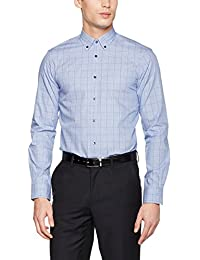 Tommy Hilfiger Tailored Herren Businesshemd Lgn Shtchk17104