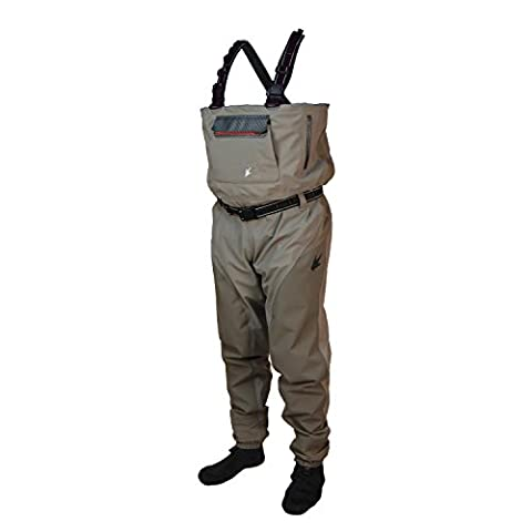Anura II Reinforced Nylon Breathable Stockingfoot Wader - Small