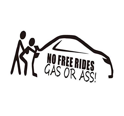 Autozubehör Günstigen Preis No Free Rides Auto AufkleberAbstrakte Stickman Sex Laptop Kayak Auto Styling Vinyl Aufkleber/3PCS