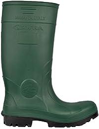 Portwest Steelite Total Safety Wellington S5, Unisex Erwachsene Arbeits-Gummistiefel , Grün - grün - Größe: 47