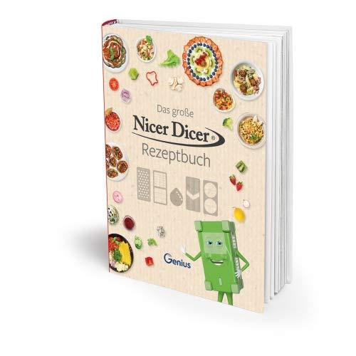 Genius Nicer Dicer Rezeptbuch   Kochbuch   Kochheft   Gemüsebuch   Bekannt aus TV   NEU