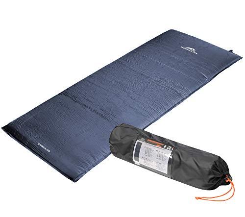 dicke, selbstaufblasende Isomatte - 7,5cm dick - Unterlegmatte Fitness Matte Campingmatte Schlafmatte 185x55x4cm