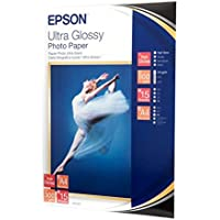 Epson Ultra Glossy Photo Paper - Papel fotográfico brillante, A4, 15 hojas