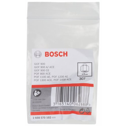 Bosch 2608570102 Collet/Nut Set for Bosch Routers