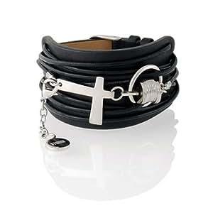 STORM - 99455/BK - Bracelet Manchette Homme - Acier inoxydable 50 Gr