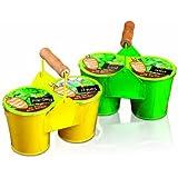 Premier Decorations BA122624 Grow your own Doubles pot avec graines - 1 piece - Modèle aléatoire