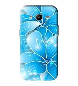 Samsung Galaxy J2-6 (2016 Edition) Back Cover Designer 3d printed Hard Case Cover for Samsung J2 2016 Edition by Gismo - Art 3d Flower Theme pattern Design