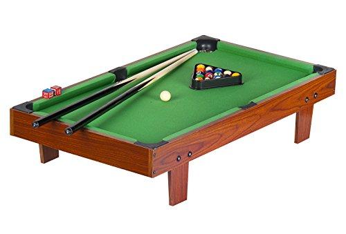 Mesa de Billar con Accesorios Mesa de billar de madera Dimensiones: 92 x 51 x 20cm