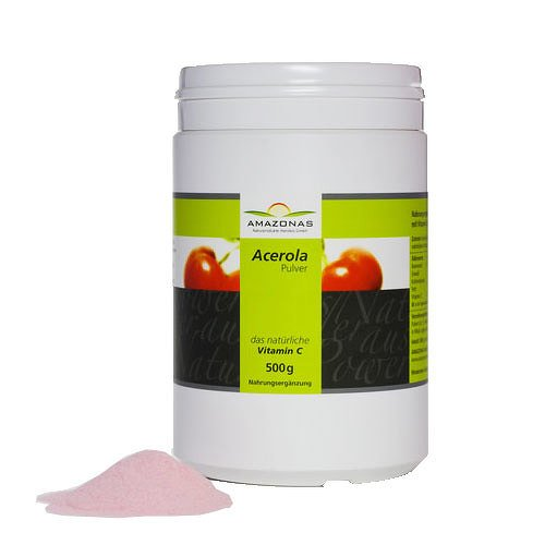 Acerola Pulver, 500 g Pulver