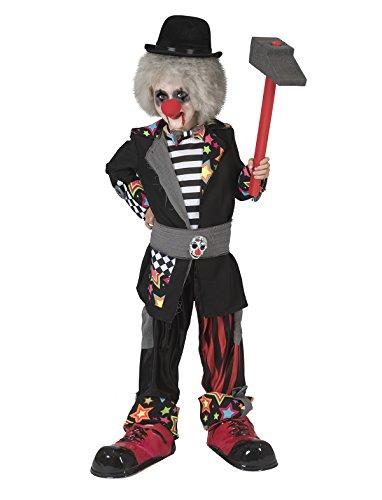 Kostüm Carneval Clown Boy Gr. 98 / Clownkostüm Halloween Kinderkostüm Karneval Horror Fasching (Kostüm Boy Party)