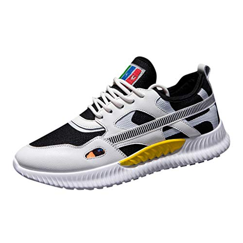 Bluestercool Uomo Sneakers Scarpe Nuova Uomo Flying Weaving Le Scarpe da Corsa Scarpe turistiche Scarpe Sportive Tempo Libero Scarpe