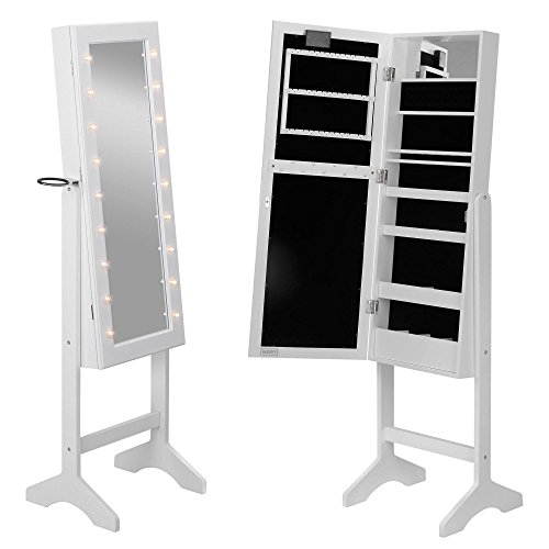beautify-floor-standing-make-up-and-jewellery-organiser-cabinet-with-mirror-led-lights-white