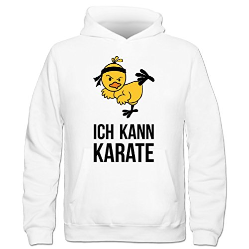 Shirtcity Ich kann Karate Kinder Kapuzenpulli by