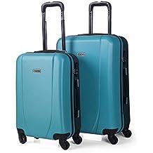 ITACA - Maletas de Viaje Trolley ABS. Rígidas, Resistentes y Ligeras. Mango Telescópico
