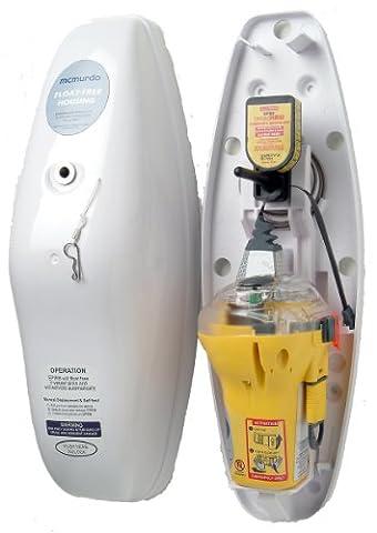 Mcmurdo AIS-Notfallsender Smartfind E5 Epirb-Auto-Float, Gelb/Weiß