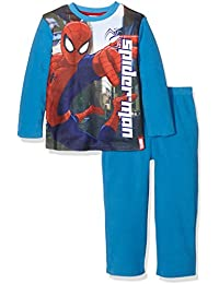 Marvel Spiderman Crime Fighter Pyjama Set, Conjuntos de Pijama para Niños