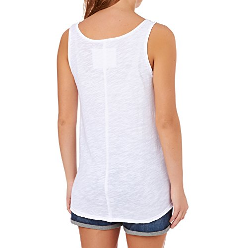 Damen Top Animal Surf Lady Vest Tank Top White