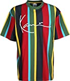 Kani TS Signature Stripe Green Red Blue Größe: M Farbe: Red
