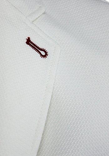 Girogama, Giacca Monopetto Casual, Blazer 2 Bottoni Uomo 4250GC Bianco