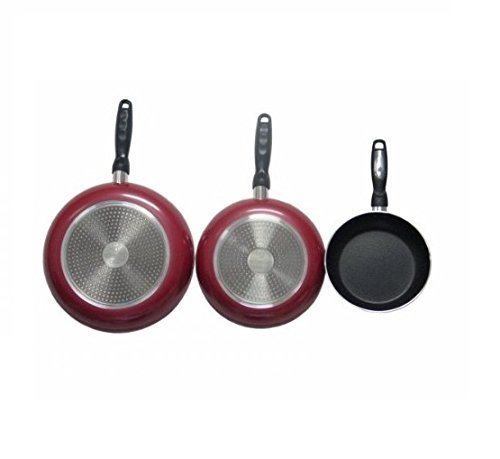 Gourmet Chef Professional Heavy Duty Induction Non Stick Fry Pan Set by Gourmet Chef Gourmet Non-stick Fry Pan