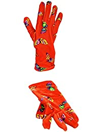 Moschino - Gants fantaisies Papillons rouge