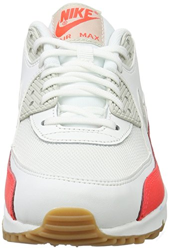 Nike Bone Essential 90 light White Sneakers Damen Crimson Air Weiß Max summit bright rqwfrvI