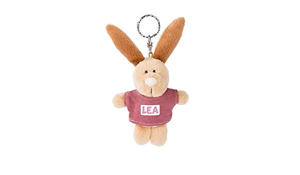 Nici 44634 Schlüsselanhänger Hase Mit T Shirt Lea 10cm Beige Spielzeug