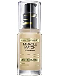 Max Factor Miracle Match Foundation 75 Golden, 30 g