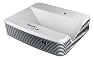 Optoma EH319UST DLP-Projektor (16:9, Kontrast 18000:1, 1920 x 1080 Pixel, 3500 ANSI Lumen, VGA, HDMI) silber
