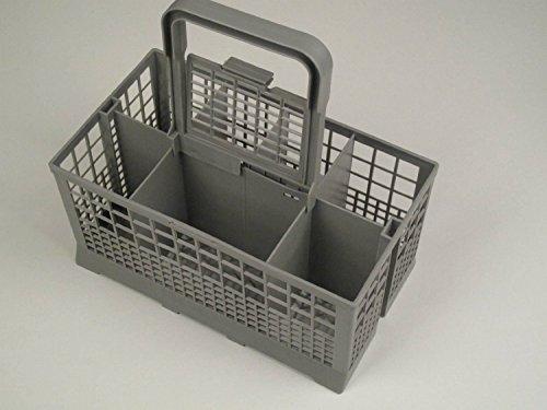 PREMIUM–Cesta de cubiertos para lavavajillas (universal, compatible con la mayoría de marca:...