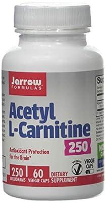 Jarrow Formulas Acetyl L-Carnitine, 250mg - 60 Vcaps, 60 Tablet