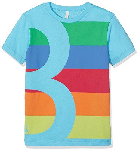 united-colors-of-benetton-t-shirt-garcon-bleu-light-blue-7-8-ans-taille-fabricant-medium