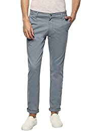 Urbano Fashion Men's Cotton Slim Fit Stretchable Casual Chinos