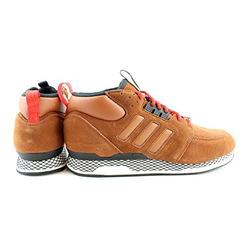 adidas ZX Casual Mid, Coupe Fermées Homme Chocolat