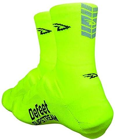 Defeet Slipstream Over Socks - Neon Yellow, L/XL