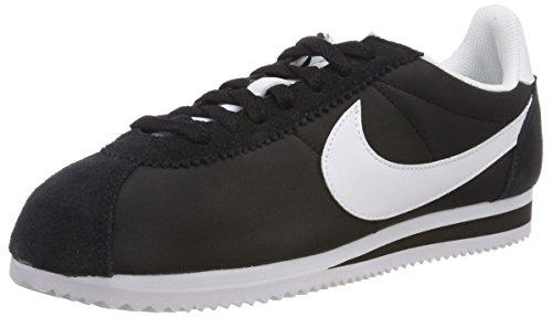 super popular ce3de f6b22 Nike Damen Classic Cortez Nylon Laufschuhe, Schwarz (Black/White 011), 40 EU