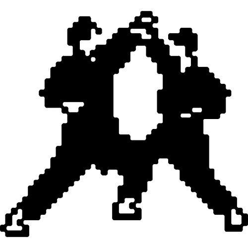 Azeeda A8 'Pixel Karate' Stempel (Unmontiert) (RS00028899)