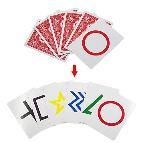 VWH Zaubertricks Fahrrad ESP Testing Karten Magic Instruction Requisiten (Fahrrad-magic-karten)