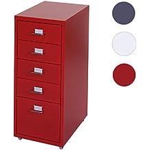 Rollcontainer Rot suchergebnis auf amazon de für rollcontainer rot bürobedarf