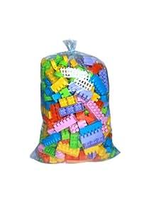 Wader Builder Construction Brick Toy Set (363 Pieces)