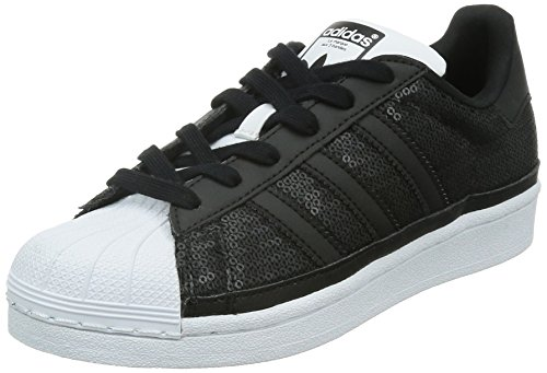 adidas Originals Superstar, Damen Sneakers, Schwarz