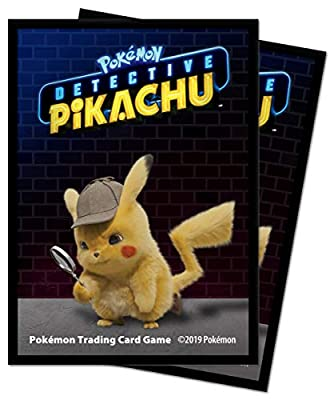 Pokémon E-15201 Ultra Pro-Detective Protège-Deck Pikachu (65 PK)