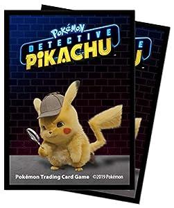 Pokémon E-15201 Ultra Pro-Detective Deck Protectors-Pikachu (65 Unidades)